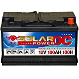 Solarbatterie 100Ah BIG Batterie Wohnmobil Boot Jacht Schiff Caravan Solar