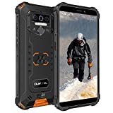 OUKITEL WP5 Pro Outdoor Handy, 4G Dual SIM IP68 Outdoor Smartphone Ohne Vertrag, 8000mAh Akku, 4GB + 64GB, Android 10 Handy Global Version 5,5 Zoll Triple Kamera, Face/Fingerprint ID (Orange)