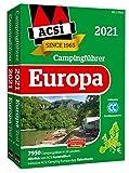 ACSI Internationaler Campingführer Europa 2021: in 2 Bänden inkl. Ermässigungskarte und ACSI Camping Europa-App Rabattcode. (Hallwag Promobil)