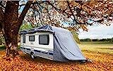 GreenYard Abdeckplane für Wohnwagen oder Wohnmobile Größe L
