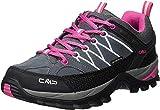 CMP Damen Rigel Low Wmn Shoes Wp Trekking-& Wanderhalbschuhe, Grau (Grey-Fuxia-Ice 103Q), 39 EU