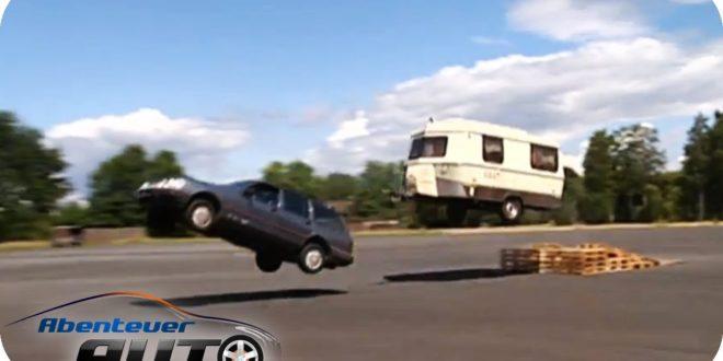Wohnwagen Test Extrem Tods Nden Mit Dem Anh Nger