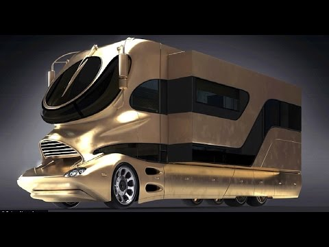 Bild von The Most Luxurious Motorhome & Buses in the world