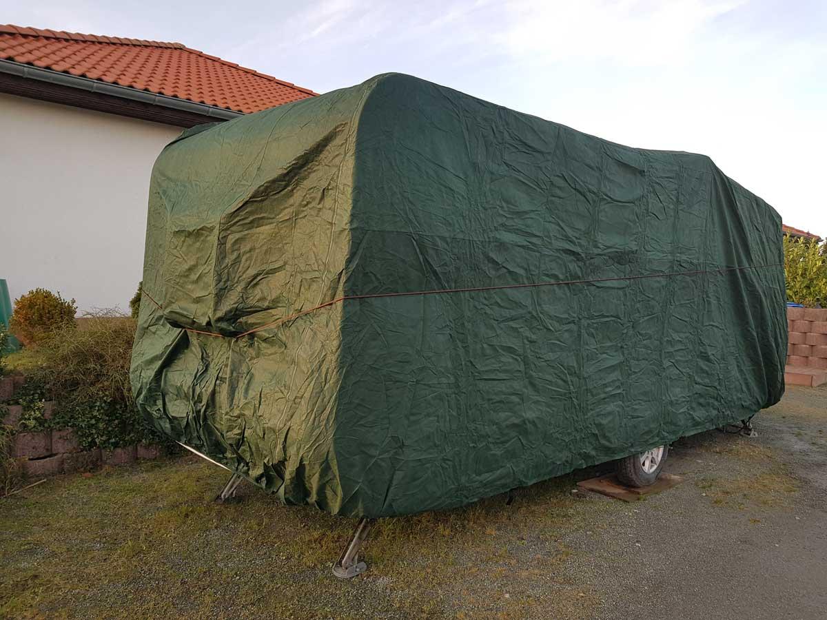 Auto & Motorrad: Teile S-XXL Auto-Anbau- & -Zubehörteile Wohnwagen Abdeck Hauben Wetter Schutz Planen Caravan Stoff wasserdicht Gr