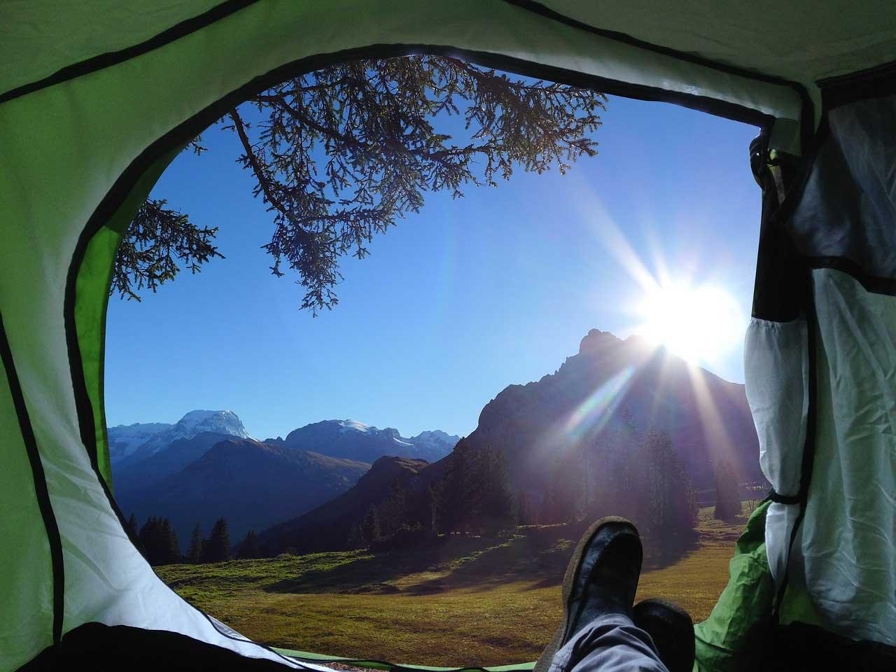 Bild von Campingliege – klappbar bzw. faltbar >> Ratgeber: Vergleich und Test