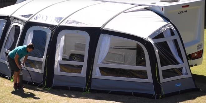 luft vorzelt aufblasbares vorzelt f r wohnwagen ratgeber. Black Bedroom Furniture Sets. Home Design Ideas