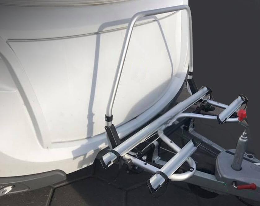wohnwagen fahrradtr ger f r deichsel und heck ratgeber. Black Bedroom Furniture Sets. Home Design Ideas