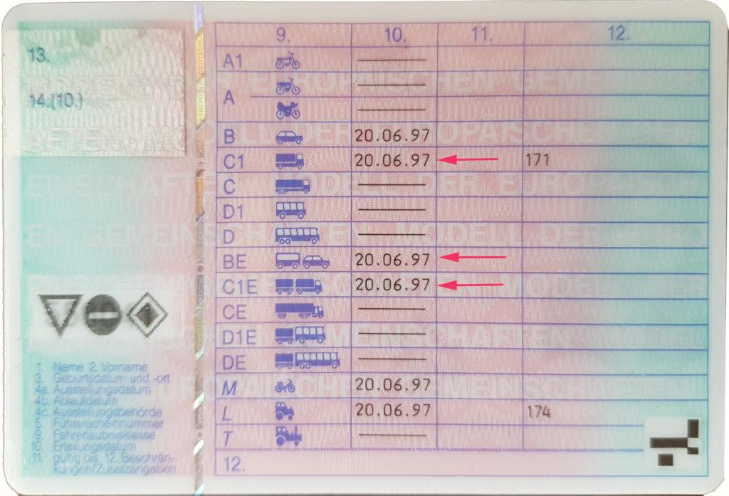Führerschein B3 1997