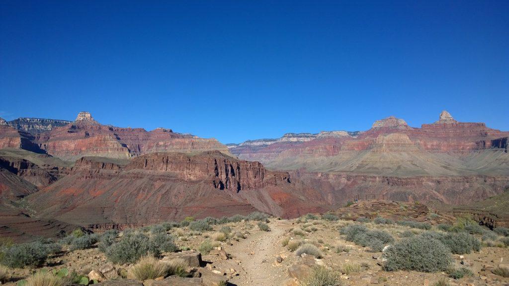 Für viele Camper die schönste Route: Die legendären Grand Canyons.