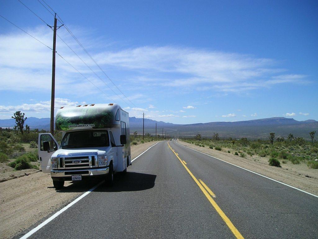 Ein Wohnwagen in den USA lässt sich vorab anmieten.
