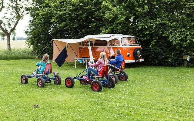 Keine Langeweile ist auf einem Campingplatz garantiert.