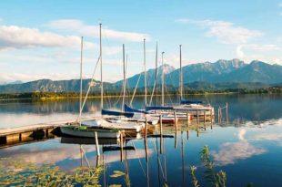 Camping Hopfensee - das soll eine harmonische Verbindung von Sport- und Freizeitspaß sein.