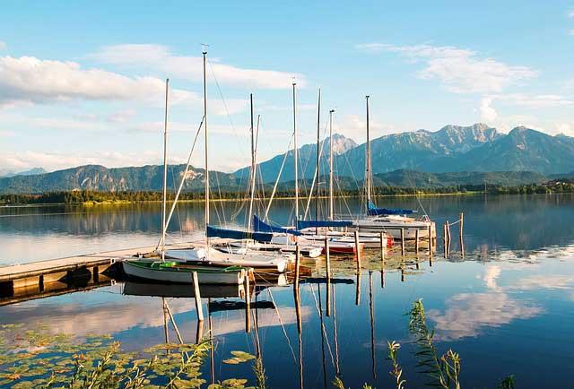 Bild von Camping Hopfensee – Campingurlaub am See in der Region Bayern