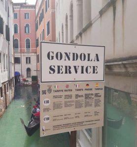 Einmal mit der Gondel durch Venedig. Für viele eine Punkt auf der To-Do Liste.