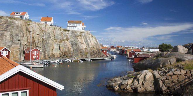 Camping in Schweden - Westküste