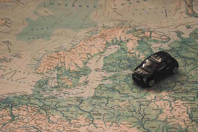 Auto Camping Norwegen