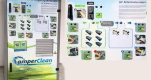 CamperClean Entleer und Reinigungsstation