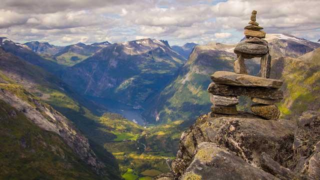 Wildcamping Norwegen