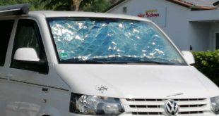 Wohnwagen Fenster isolieren - als Hitzeschutz und gegen Kälte