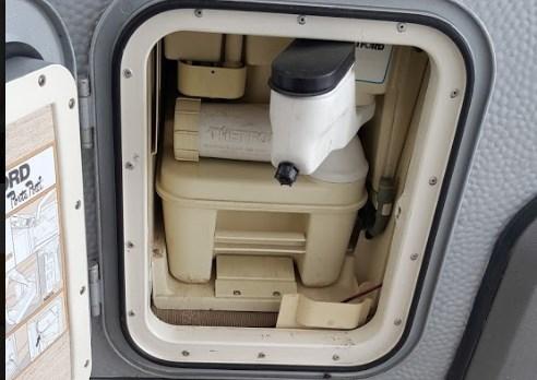 Toilettenkassette Thetford mit dem Camping Butler reinigen