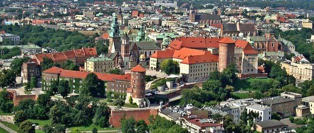 Kulturstadt Krakau - Ziel von Millionen Touristen jedes Jahr.