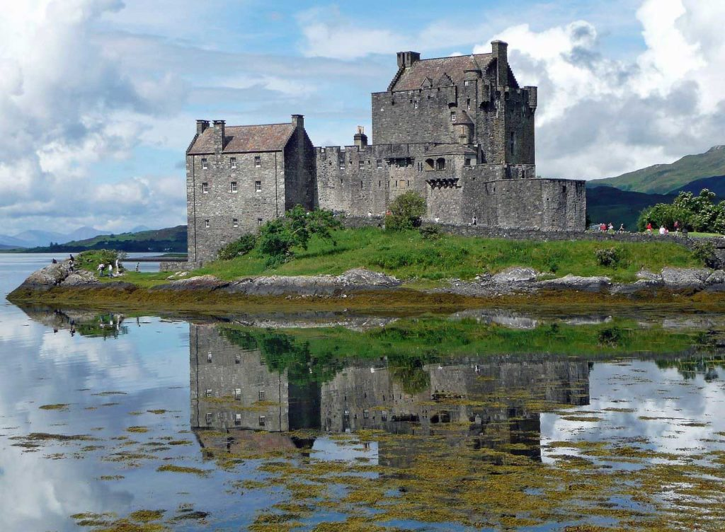 Schottland ist überseht mit mittelalterlichen Burgen. Herrschaftssitze der verschiedenen Clans.