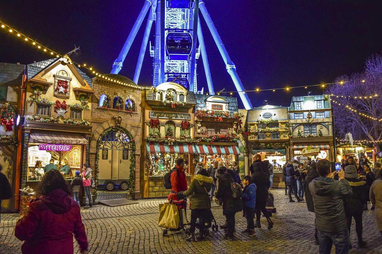 Bild von Die schönsten 5 Weihnachtsmärkte mit Campingplatz in der Nähe