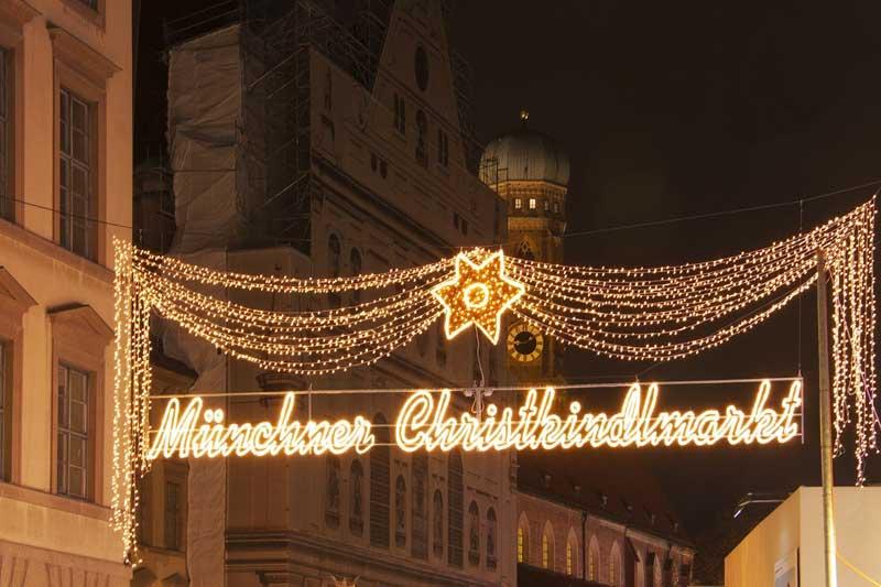 Christkindlmarkt in München