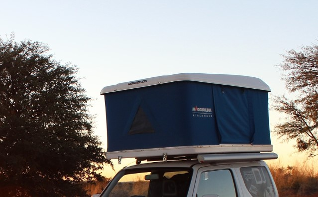 Wintercamping im Dachzelt