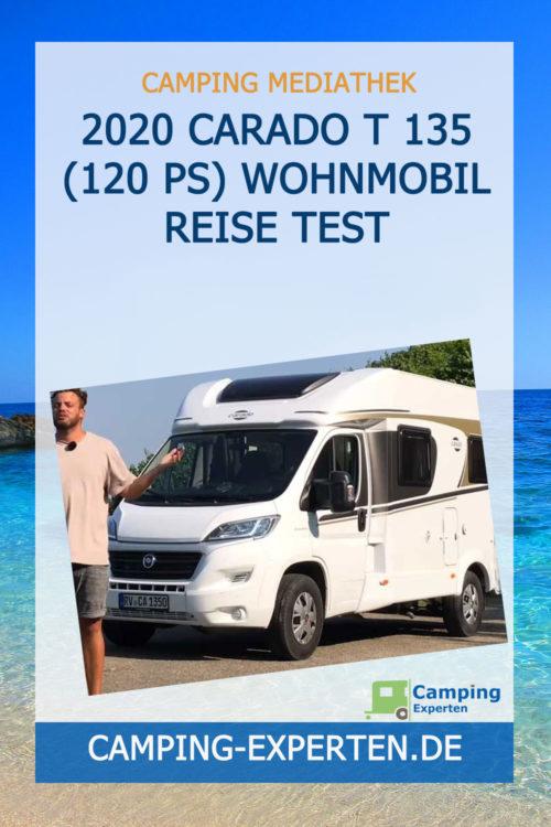 2020 Carado T 135 (120 PS) Wohnmobil Reise Test