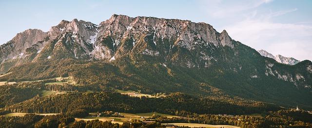 Das Kaisergebirge Tirol.