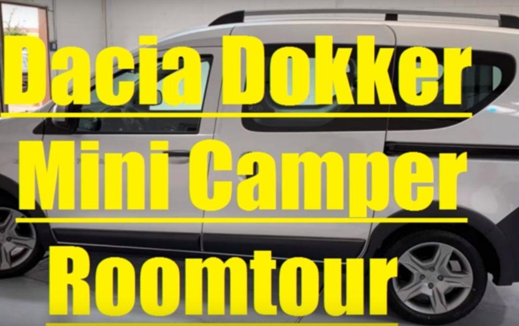 Dacia Dokker Mini Camper