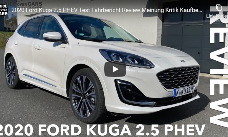Ford Kuga 2.5 PHEV 2020 - Test, Fahrbericht und Review