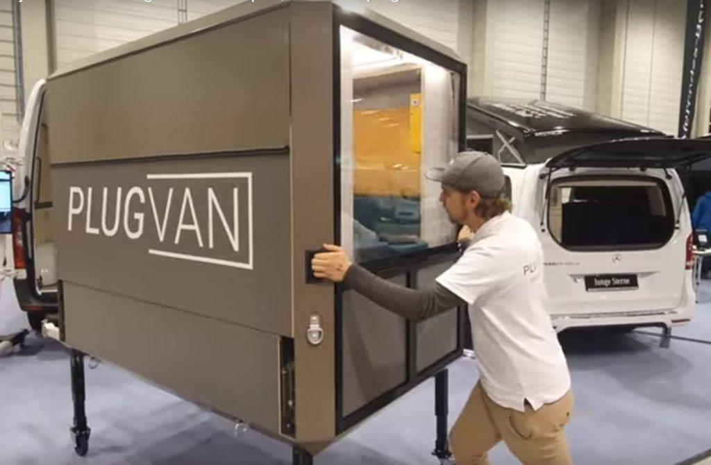 PlugVan Modul macht jeden Kastenwagen zum Camper