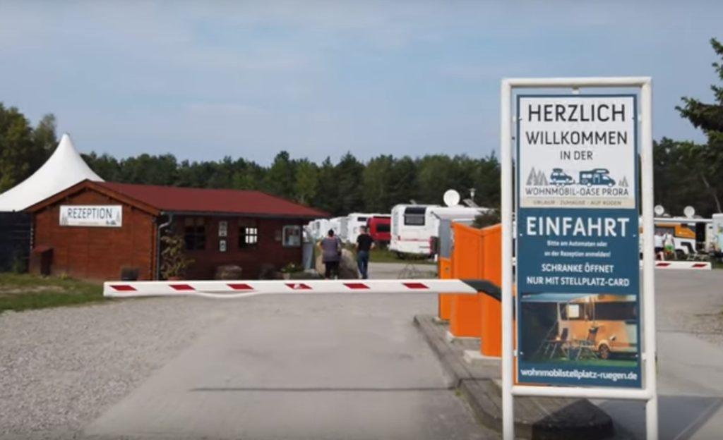 Wohnmobiloase-Prora auf Rügen
