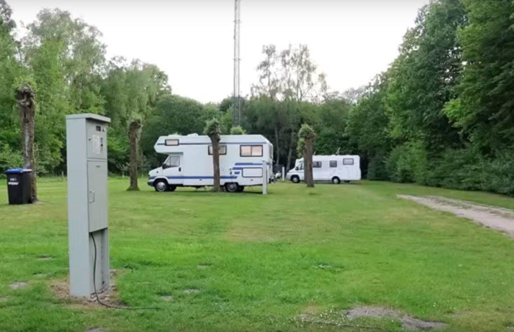 Wohnmobilstellplatz am Dreiländersee Gronau