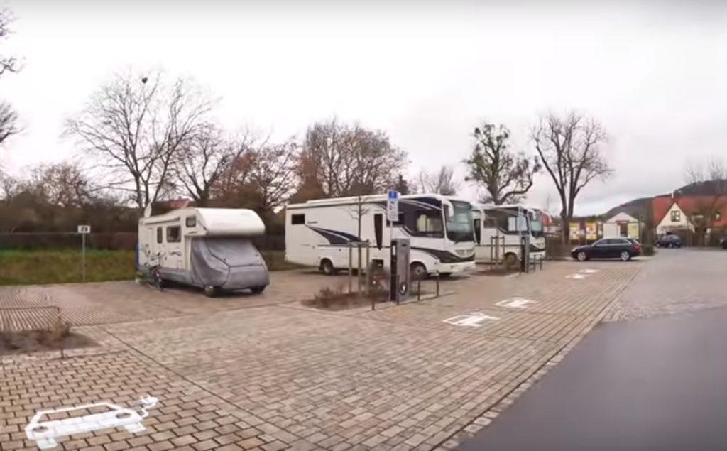Wohnmobil Stellplatz in Iphofen / Franken - kostenlos