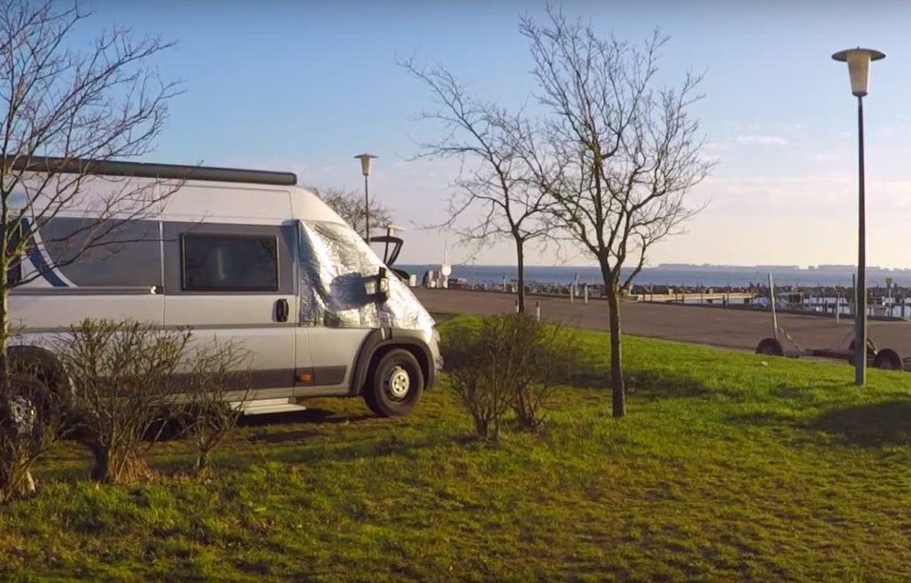 Wohnmobil Stellplatz: Am Seglerhafen - Maasholm / Schleswig-Holstein