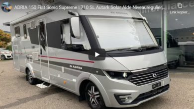 Photo of Wohnmobil Vorstellung: ADRIA 150 Fiat Sonic Supreme I 710 SL – Roomtour