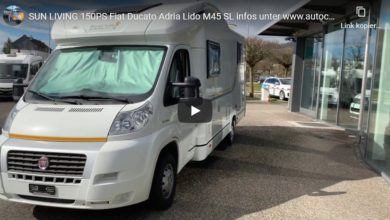 Photo of Wohnmobil Vorstellung: Fiat Ducato Adria Lido M45 SL – SUN LIVING 150PS – Roomtour