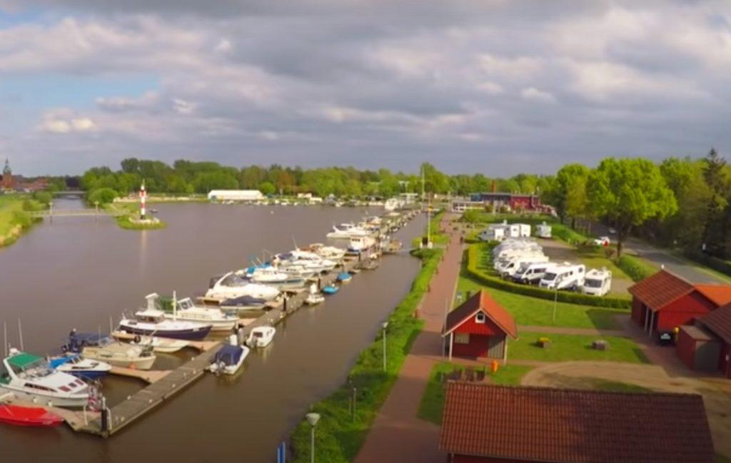 """Reisetipp: Wohnmobilstellplatz """"Am Hafen"""" in Barßel / Niedersachsen"""
