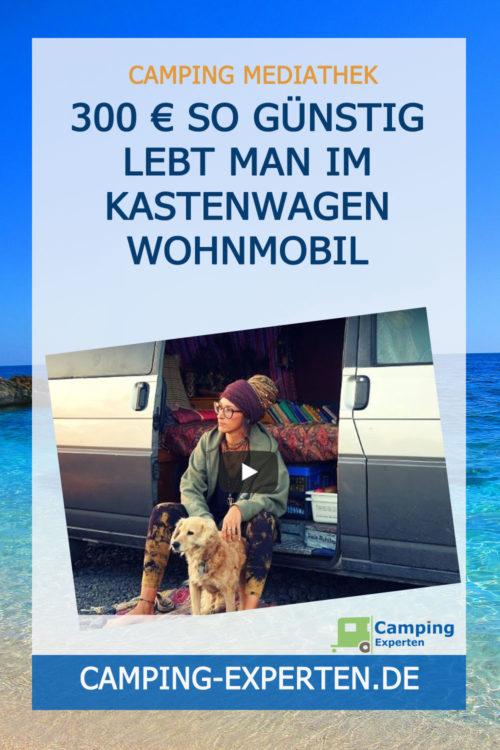 300 € So günstig lebt man im Kastenwagen Wohnmobil