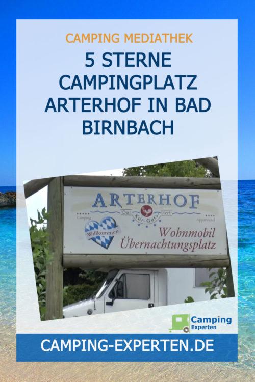 5 Sterne Campingplatz Arterhof in Bad Birnbach
