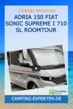 ADRIA 150 Fiat Sonic Supreme I 710 SL Roomtour