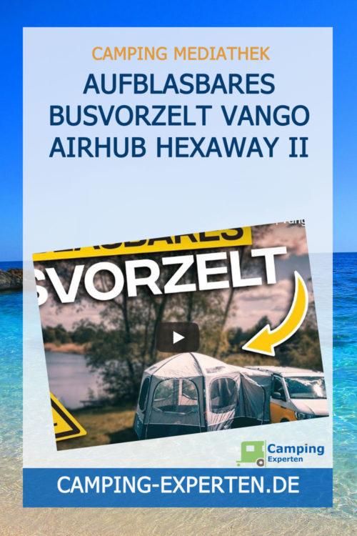 Aufblasbares Busvorzelt Vango Airhub Hexaway II