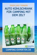 Auto Kühlschrank für Camping mit dem Zelt