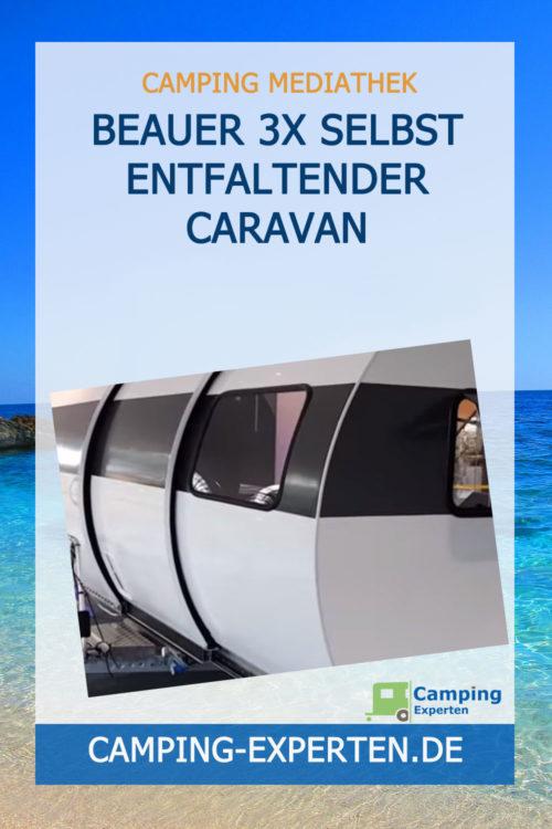 BEAUER 3X selbst entfaltender Caravan