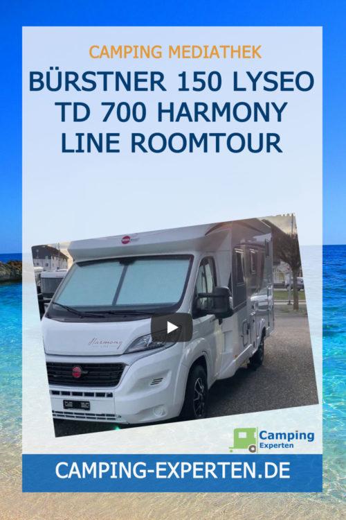 BÜRSTNER 150 Lyseo TD 700 Harmony Line Roomtour