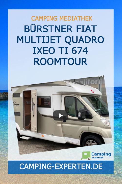 BÜRSTNER Fiat Multijet Quadro Ixeo TI 674 Roomtour