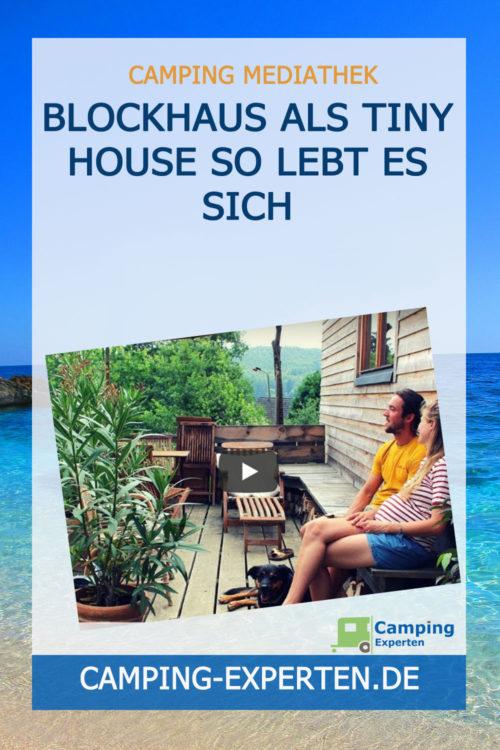 Blockhaus als Tiny House So lebt es sich